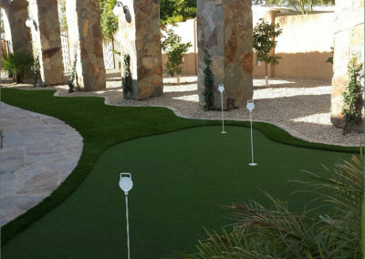 Roman Putting Green