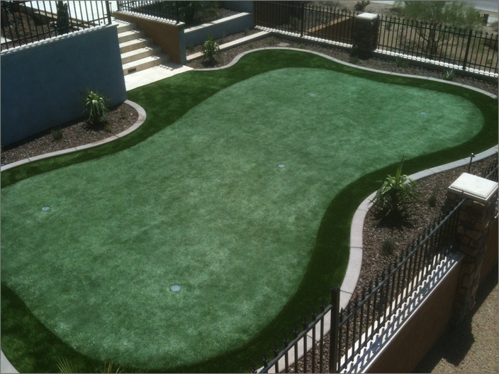 Overview Putting Green