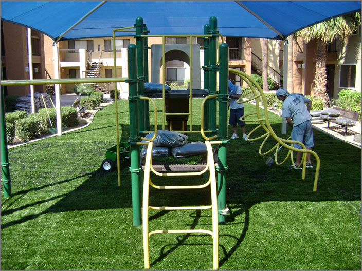 Playground Finishing Touch