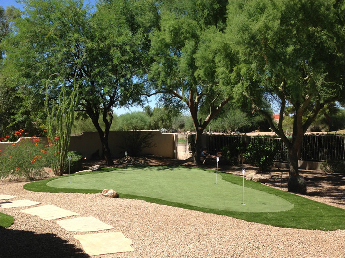 Desert Putting Green