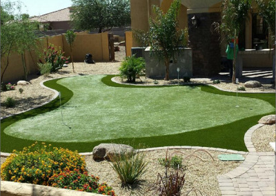 Putting Green in Tatum Ranch